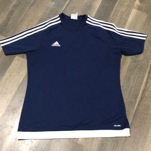 Adidas climalite shirt sz Large